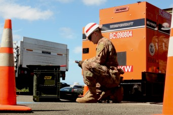 Hands-on install powers 249th Engineers training with USACE