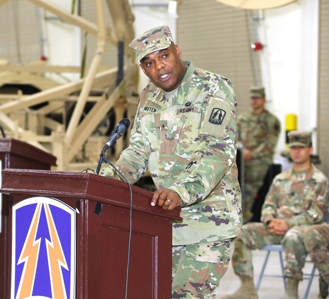 335th Signal Command (Theater) (Provisional) welcomes new commander - Brig. Gen. Dion B. Moten