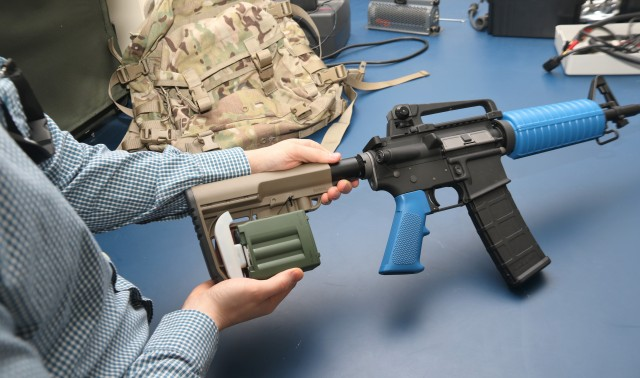 Army Futures enhances small-arms weapons through optimized power sources
