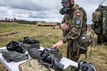 Battle Group Poland strengthens unity through Interoperability Games event