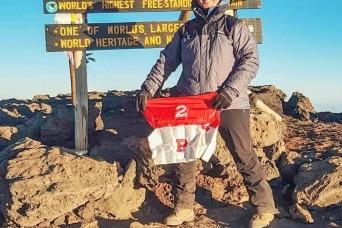 2CR Soldier follows his dream of climbing Mount Kilimanjaro