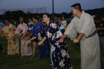 Camp Zama's 60th anniversary Bon Odori Festival celebrates continuous bilateral friendship