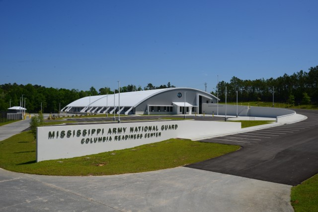The Columbia Army National Guard Readiness Center was reopened during a July 13, 2019, ceremony. The center, home to Company A, 150th Brigade Engineer Battalion, was reopened after being destroyed on Dec. 23, 2014, by a tornado.