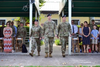 Public Health Activity - Italy hosts change of command ceremony