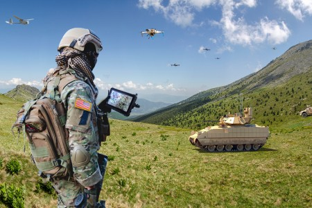 Army Futures Command is soliciting industry for information on emerging technologies in robotics and sensors to enhance the targeting capabilities of Army small tactical units.