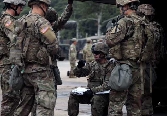 By the book: Greywolf Brigade conducts Sergeant's Time Training