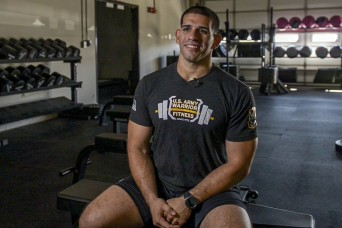 Putting in sweat: Soldier gives all to make fitness team