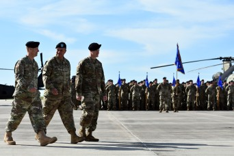 12th Combat Aviation Brigade welcomes new commander