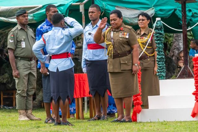 Culmination of Pacific Pathways training displayed at cadet graduation at Napuka Secondary School