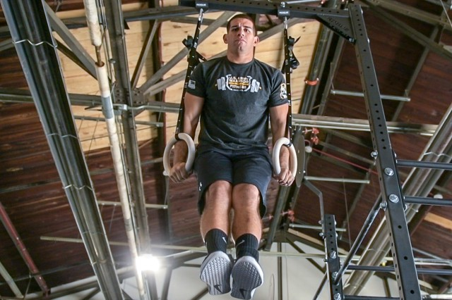 Sgt. 1st Class Carlos Zayas is determined to represent himself and the Army at high-level competitions, all while encouraging others to join the service he admires.  He discussed his Army story at Fort Knox, Ky., on June 25, 2019