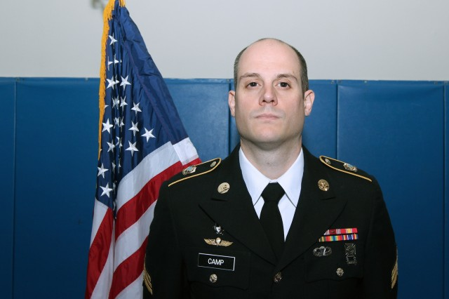 Sgt. Nicholas Camp is a cyber operations specialist (MOS 17C) assigned to the Cyber Protection Brigade's Development Group at Fort George G. Meade, Md. (U.S. Army photo)