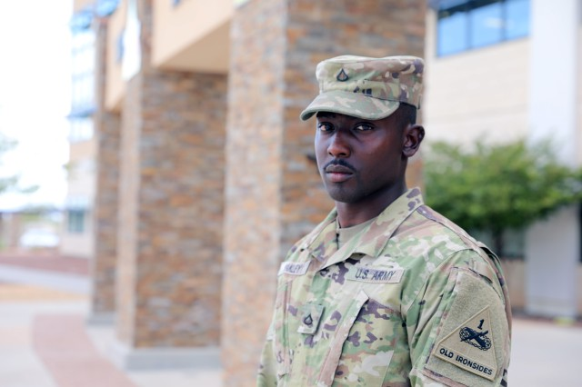 Soldier channels training and courage during tragedy