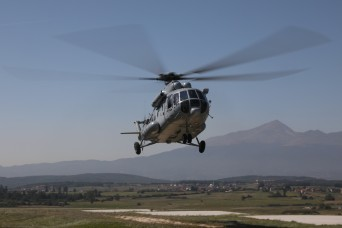KFOR 26 Task Force Aviation trains with Croatian Air Force