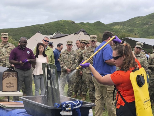 Sprayable Decontaminant Slurry Could be in Warfighter Hands Soon