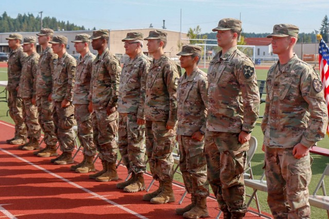 Eleven Medical Soldiers earned the Expert Field Medical Badge after completing 144 hours in a weeklong exercise at Joint Base Lewis McChord, Washington, that ended Aug. 14.