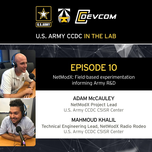 Engineers highlight importance of field-based experimentation, like NetModX, on 'CCDC in the Lab' podcast