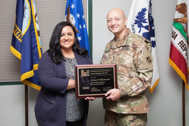 Raymundo Named USACE 2019 Project Manager of the Year