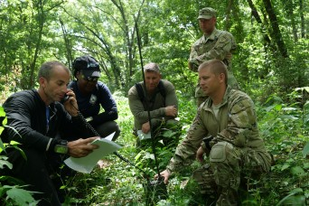 Indiana National Guard trains with federal drug agents