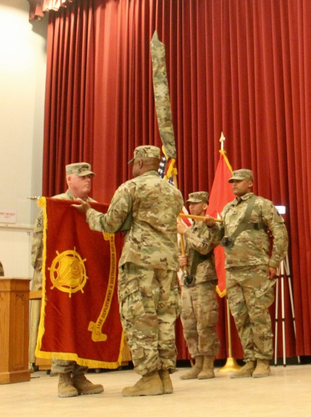 1188th Transportation Battalion Transfer of Authority