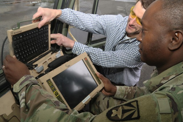 Engineers at the CCDC C5ISR Center focus on understanding the needs of Soldiers and incorporate their input into prototypes for mission command systems that provide enhanced situational awareness, secure communications and advanced logistics on the battlefield.