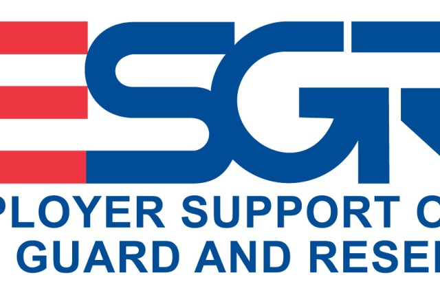Logo of the Employer Support of the Guard and Reserve, which is being honored this week by presidential proclamation.