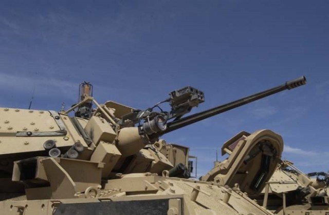 Army begins transitioning cold spray technology for Bradley turret gun mount repairs