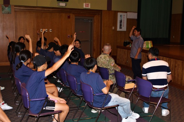 Camp Carroll holds 15th Annual Summer English Camp for local students