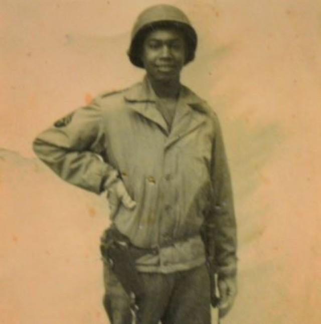 SGT Roland Piggee (circa 1944), father of LTG Aundre Piggee, Deputy Chief of Staff, Army G-4