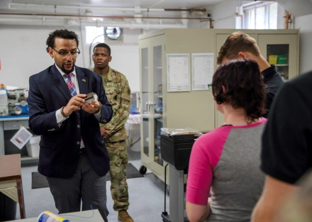 Army recruits visit Picatinny for broader Army perspective