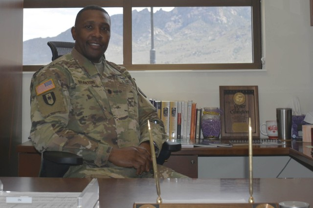 White Sands Missile Range welcomed McAfee U.S. Army Health Clinic Commander Lt. Col. Aaron Braxton II on June 27.