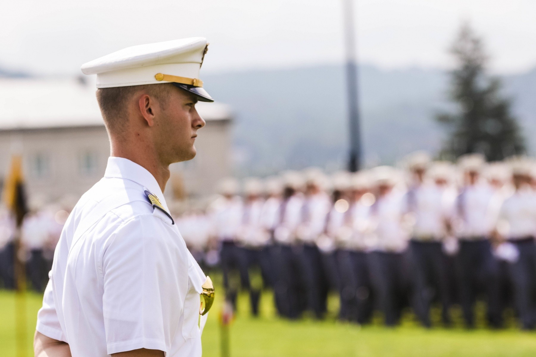 Naval Academy Graduation 2020.Class Of 2020 Cadet Daine Van De Wall Takes Lead Of Usma
