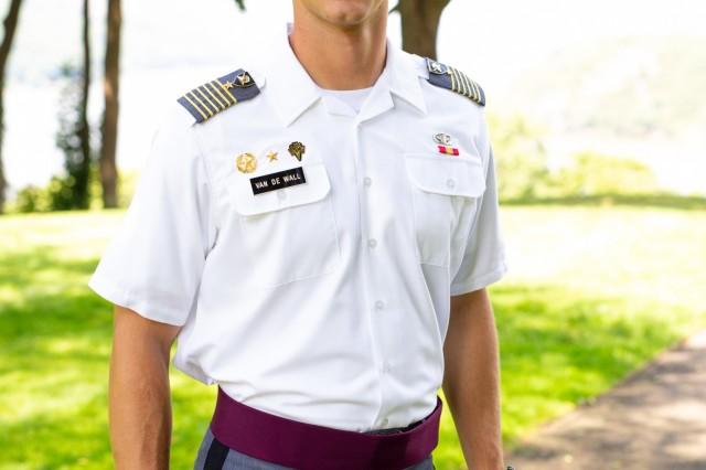 Class of 2020 Cadet Daine Van de Wall takes lead of USMA