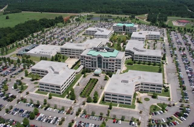 Sparkman Center aerial