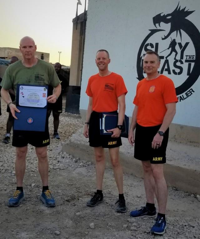 Task Force Cavalier, 529th CSSB PRT Badge Ceremony