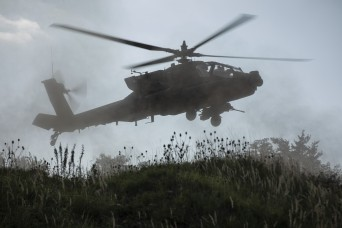 Combined Resolve XII: 1st CAB Apaches bring firepower to the fight