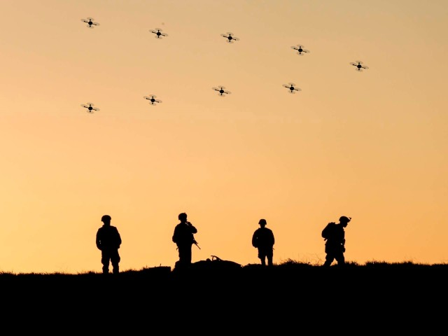 Creating a buzz: Army looks to enhance mission command with robotic swarms