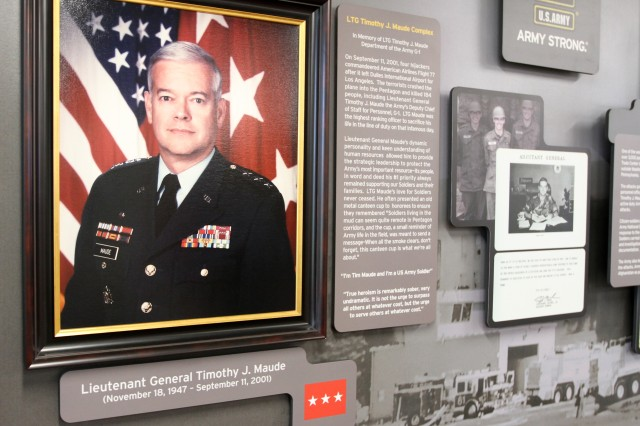 Lt. Gen. Timothy J. Maude, after whom the U.S. Army Human Resources Command building is named, was the highest-ranking officer killed in the 9/11 attack on the Pentagon in 2001.