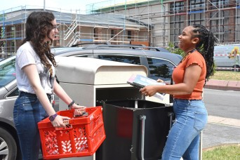 Students get work experience at garrison jobs