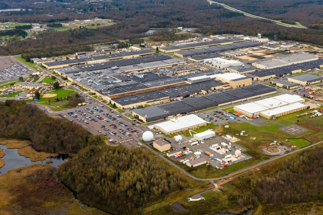 The Tobyhanna Army Depot in Tobyhanna, Pennsylvania, is CECOM's organic industrial repair and overhaul facility for command, control, communications, computers, cyber, intelligence, surveillance, and reconnaissance (C5ISR) systems.