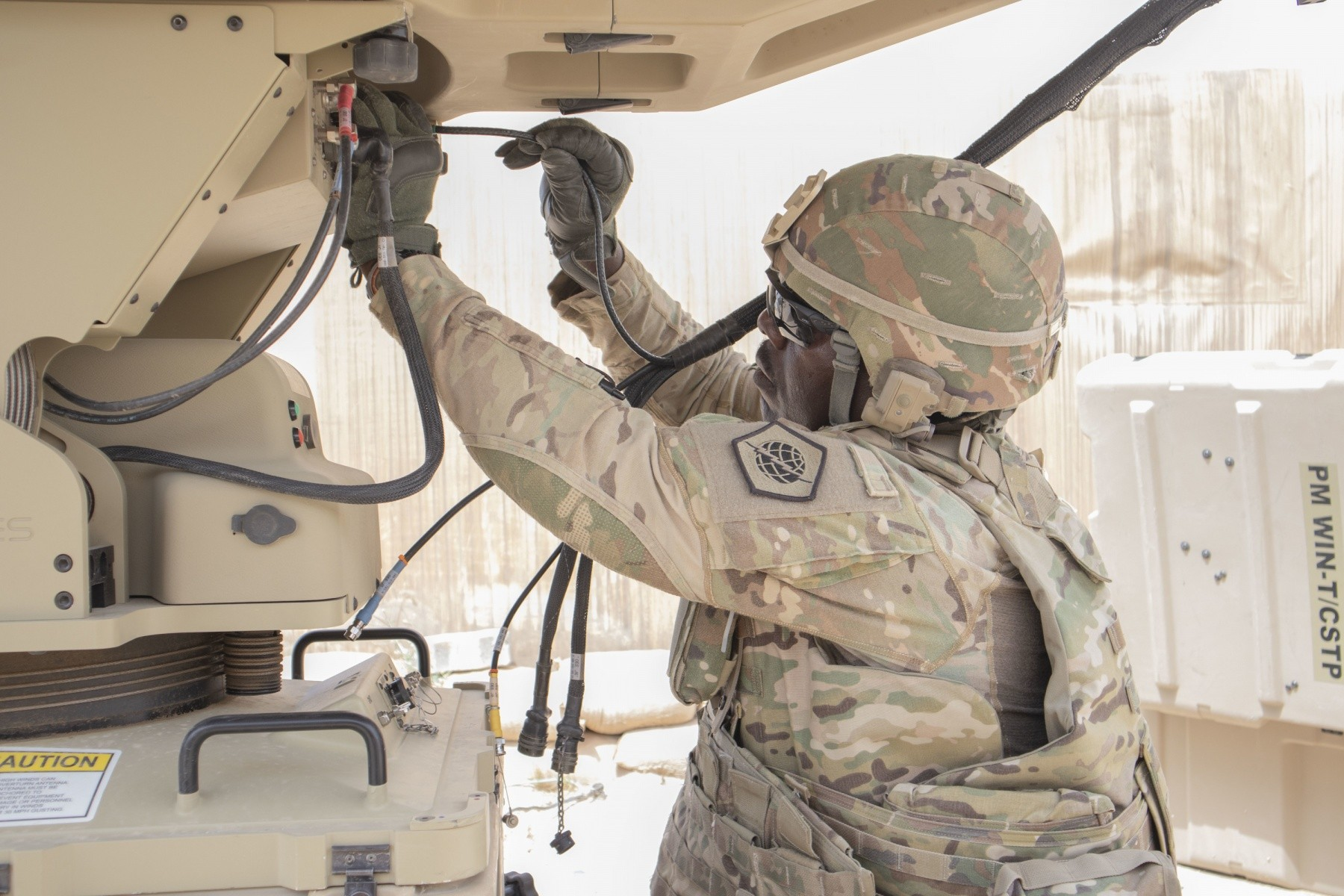 98th Conducts Emergency Deployment Readiness Exercises while