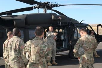 A steep change: Illinois Guardsmen face new terrain at Rising Thunder