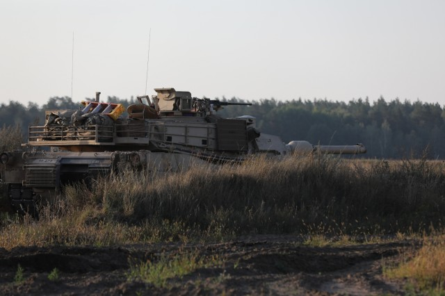 The enhanced Forward Presence Battle Group Poland (eFP BG POL) conducted a Combined Arms Live Fire Exercise�(CALFEX) at the Bemowo Piskie Training Area Aug. 26-29.�