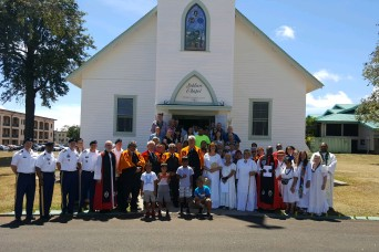 Army Hawaii remembers queen's donation of Soldiers Chapel