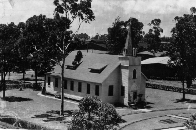The post chapel in 1940.