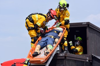 USAG Japan works with Japanese emergency services during disaster drill