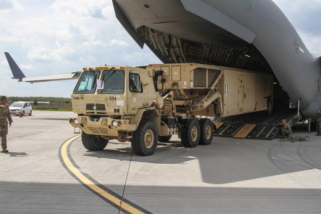 THAAD redeploys from Romania
