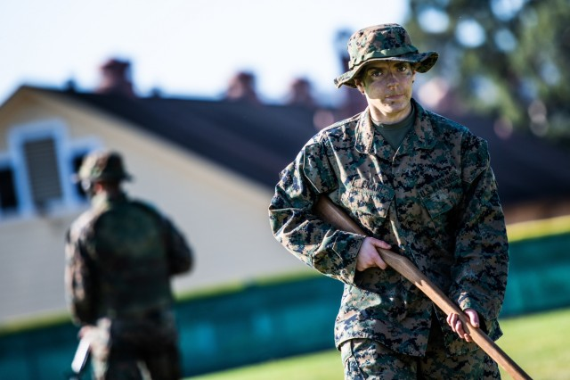 Every Marine a rifleman at the Presidio of Monterey