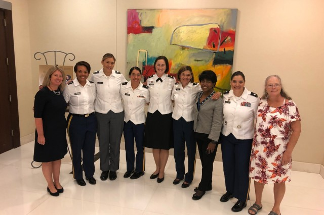 The Office of the Deputy Assistant Secretary of the Army and the Sea Service Leadership Association hosted the 32nd annual Joint Women's Leadership Symposium in Washington D.C. Aug. 22-23.