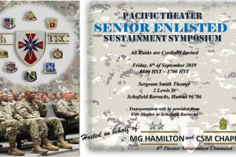 8th TSC Hosts the first Pacific Theater Senior Enlisted Sustainment Symposium