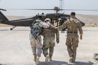 Soldiers train on saving lives